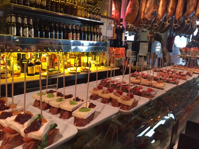 Tapas for lunch!