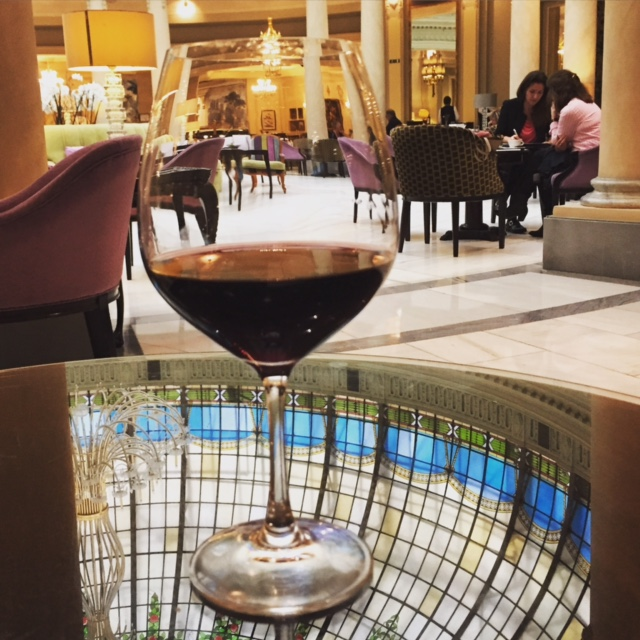 Cheers from the Westin Palace Madrid