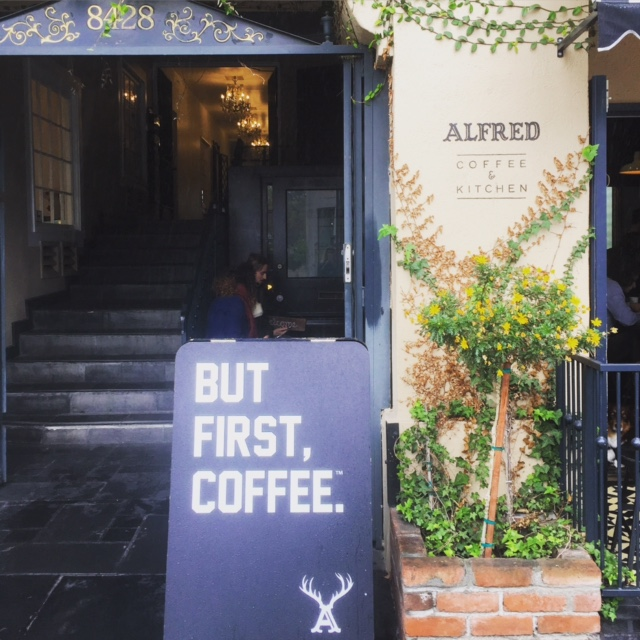Alfred Coffee: Melrose Place