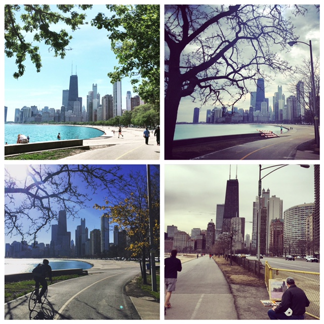 Chicago Lakefront Running Path