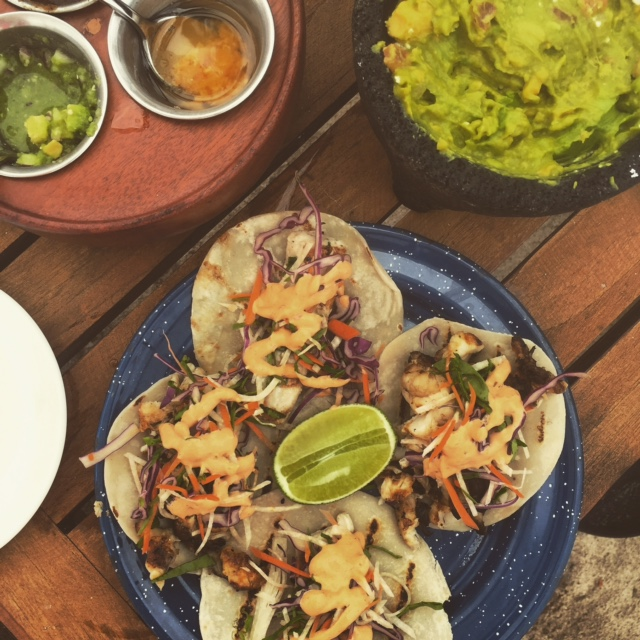 Shrimp Tacos and Lobster Tacos - Punta Mita Mexico