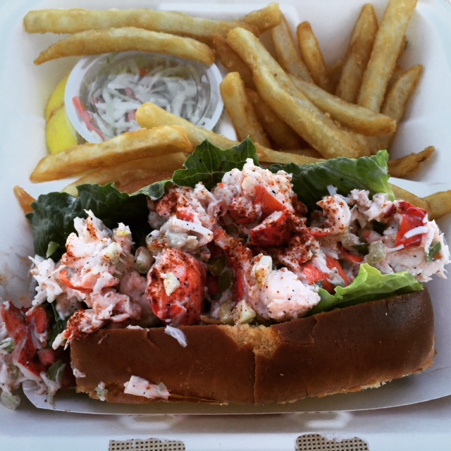 Chatham Fish Pier Lobster Roll